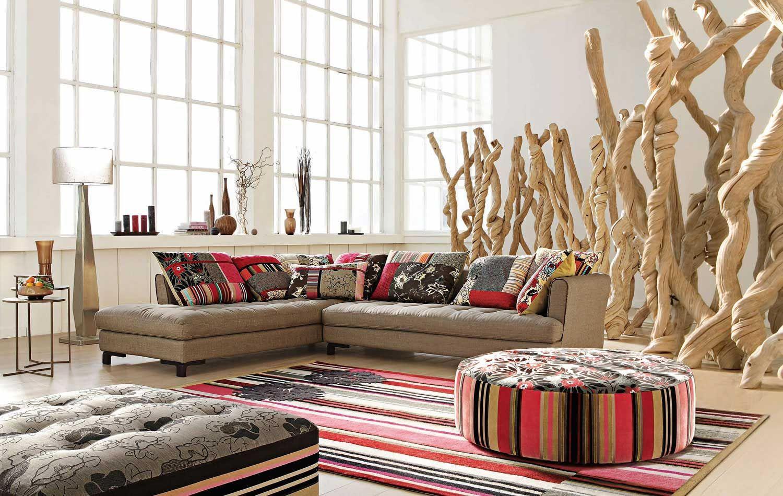 Sofa mod. \'Kansai\' de Roche Bobois. | Decoracion Interior ...
