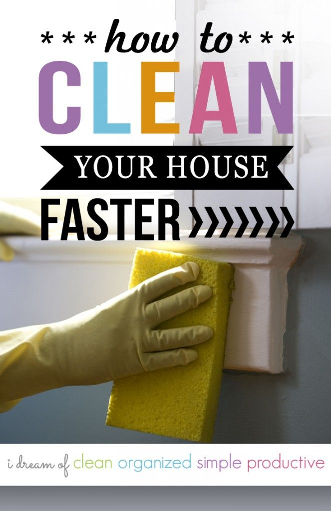 How To Clean The House Fast Cleaning Hacks Sd