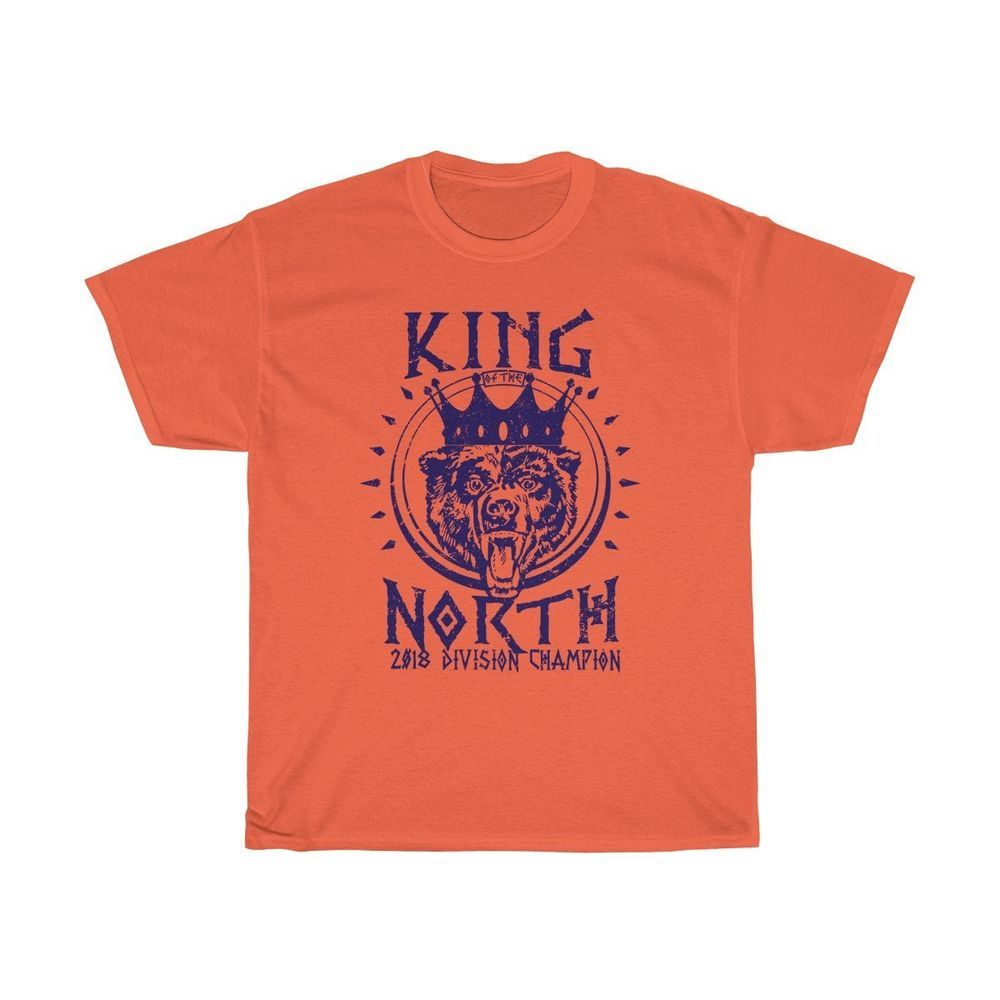 Chicago Bears Nfc North King Of The North Championship T-Shirt  fashion    clothing 829cb3f4a
