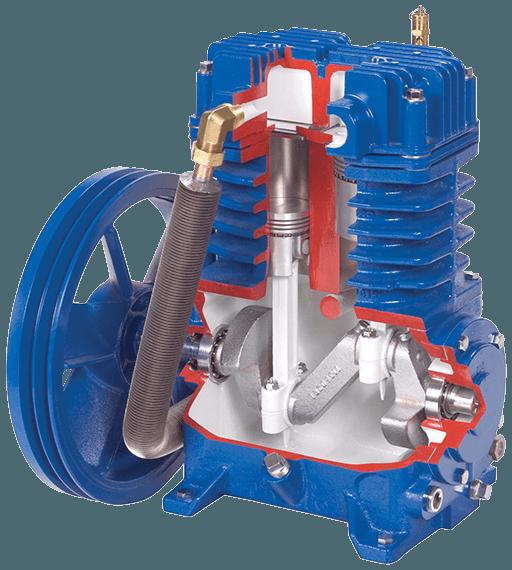 QT Air compressor, Reciprocating air compressor