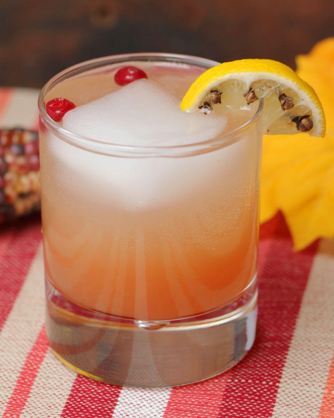 Cran-Apple Rum Punch | Spirits | Pinterest