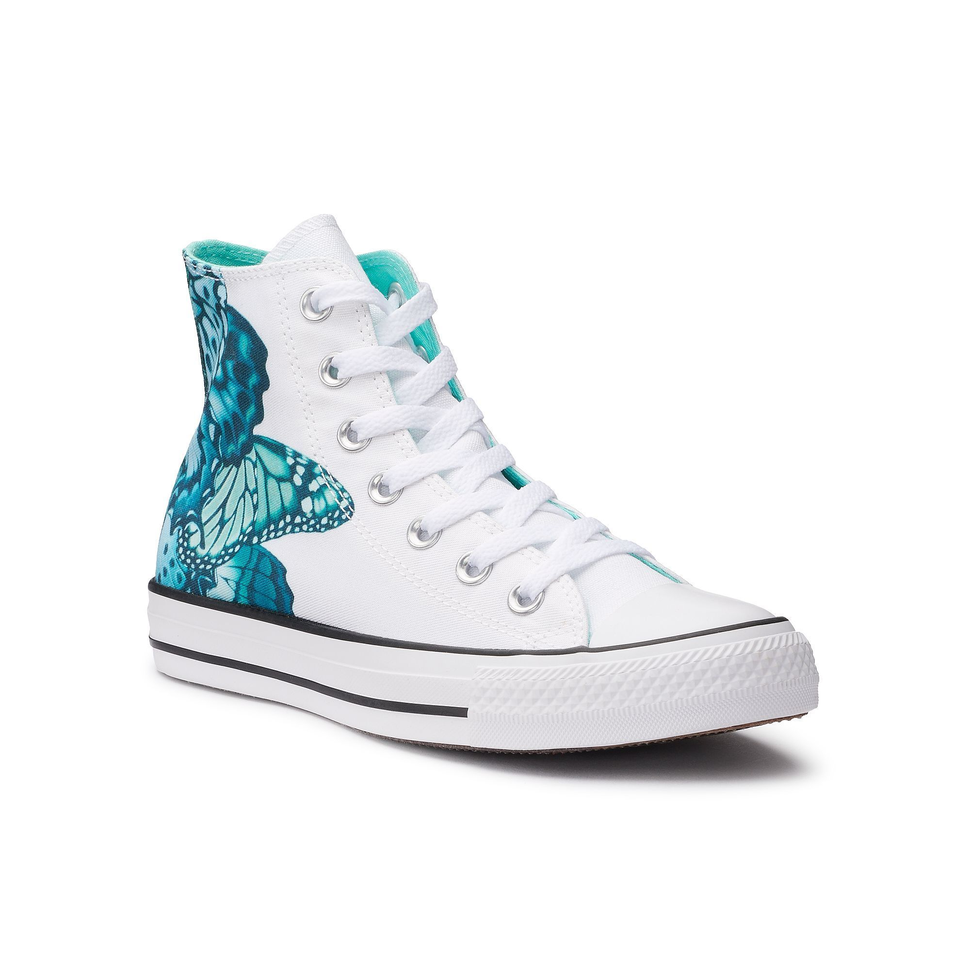 c97ca6efa10b1e Women s Converse Chuck Taylor All Star Butterfly High Top Sneakers ...