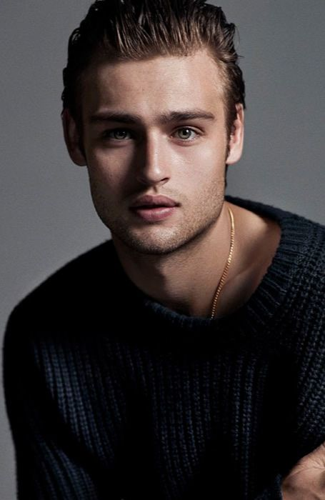 Douglas Booth Hairstyl...