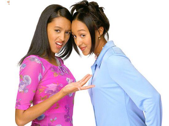 Tia Tyreke Sister Sister Season 5 Bing Images Tia And Tamera Mowry Tamera Mowry Hair Flip