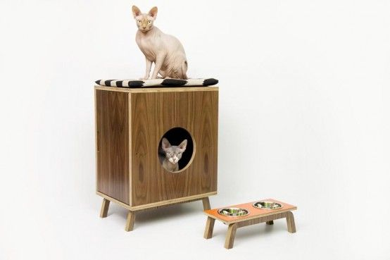 chic cat furniture. Mid-Century Chic Pet Furniture By Modernist Cat R