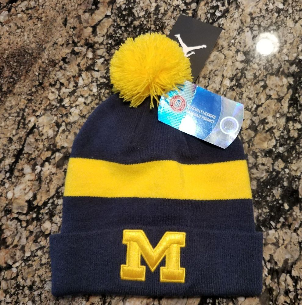 ... discount code for nike air jordan jumpman michigan wolverines sideline beanie  knit hat youth 8d730 b62fb 36d0f29b1bb2