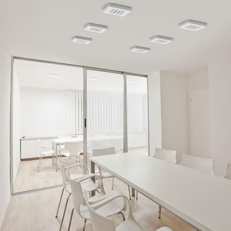 Luminarias y lámparas LED para iluminación en entornos de trabajo ...