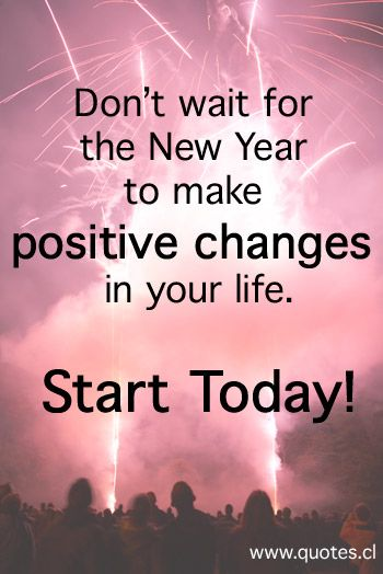 Don't wait for the New Year to make positive changes in ...