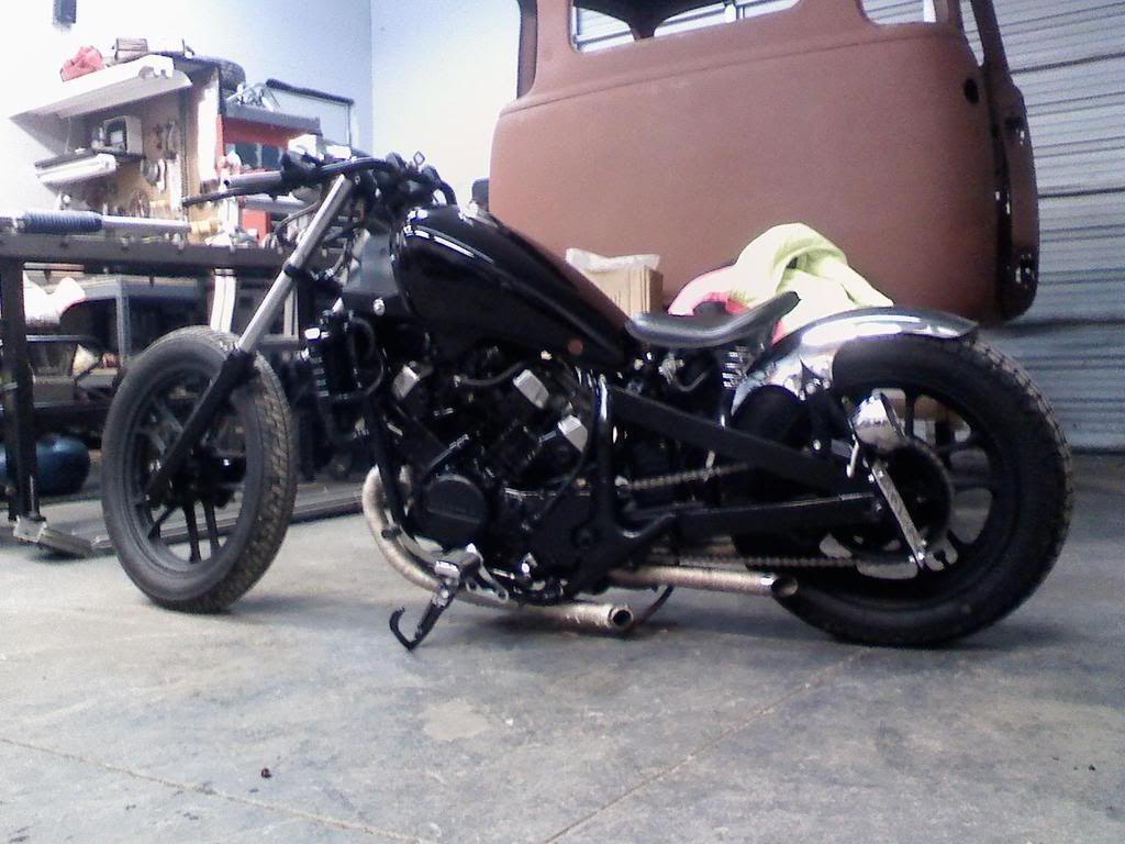 honda magna bobber.   motorcycles   pinterest   honda magna bobber