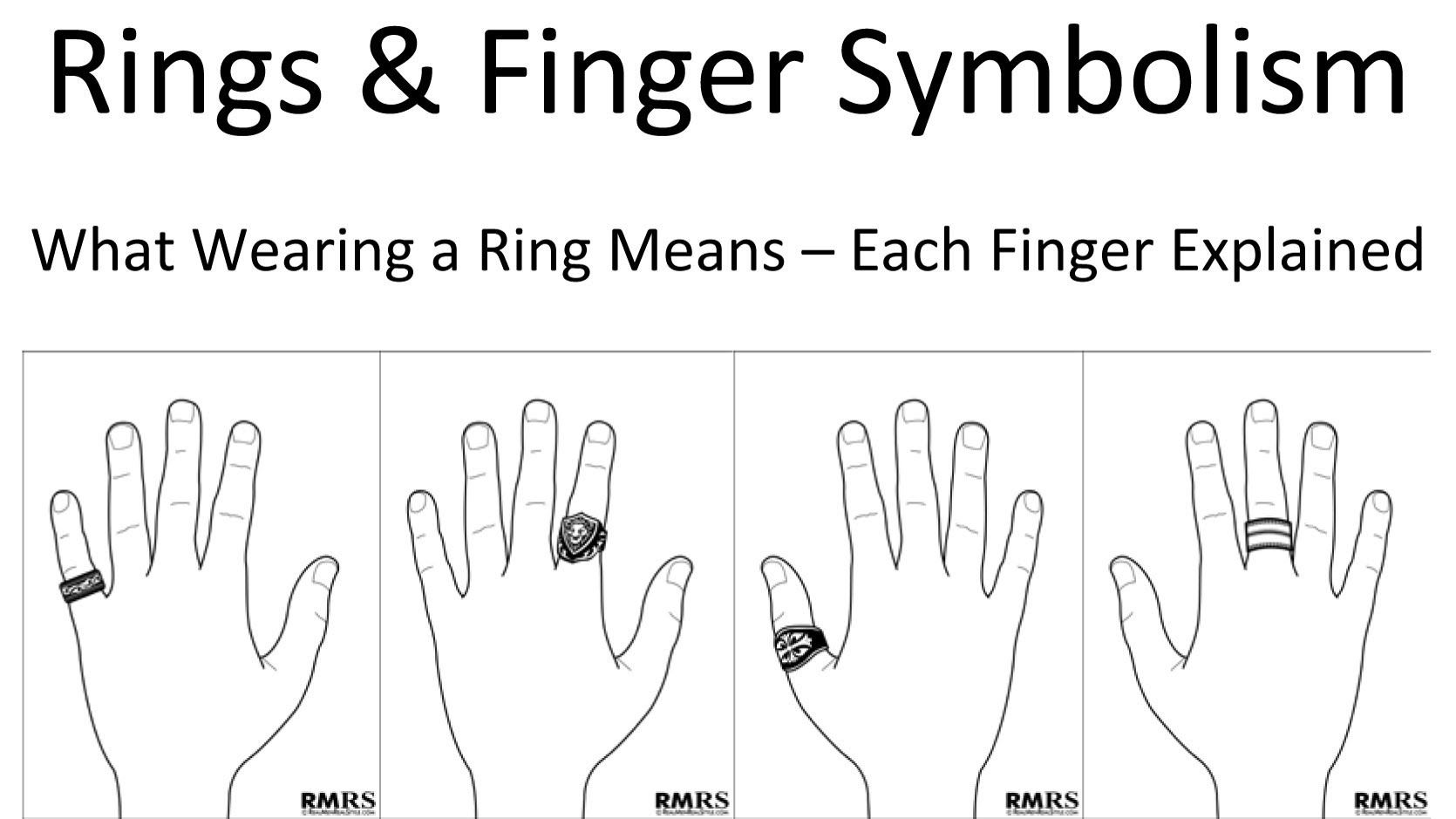 Rings Amp Finger Symbolism Which Finger Should You Wear A Ring