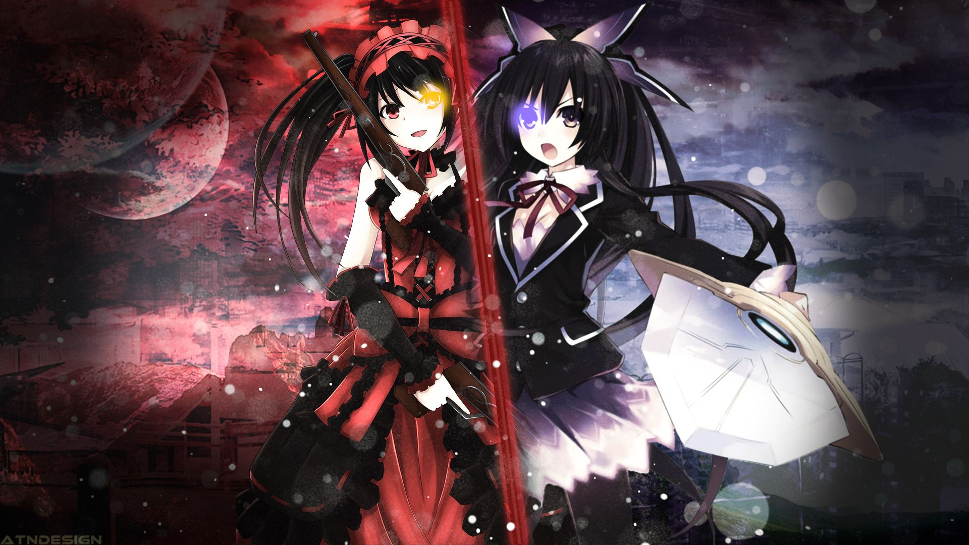 Date A Live 2 Wallpaper Anime Zhizn