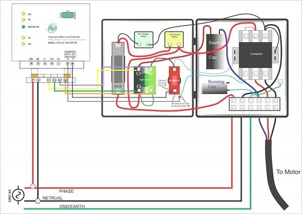 grundfos pump wiring diagram  submersible pump submersible