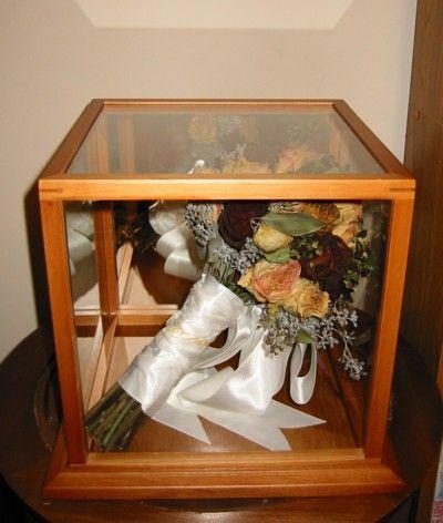 Shadow Box Wedding Wall Shelf Deep Beach Cottage Chic Bridal Bouquet Distressed Furniture Rustic Crafts Pinterest