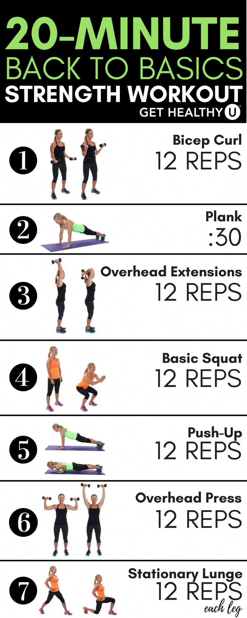 Back To Basics Total-Body Workout - Get Healthy U