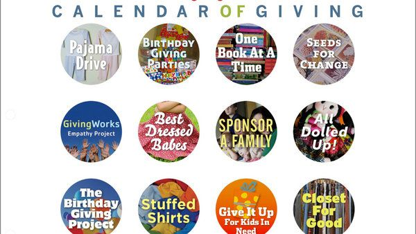 Our annual search for charities that inspire kids, and one that might inspire your family.