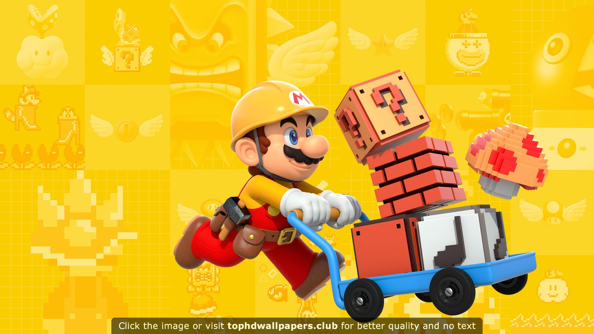 Super Mario Maker Wallpaper Super Mario Mario Nintendo