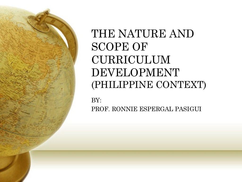 curriculum development in the philippines