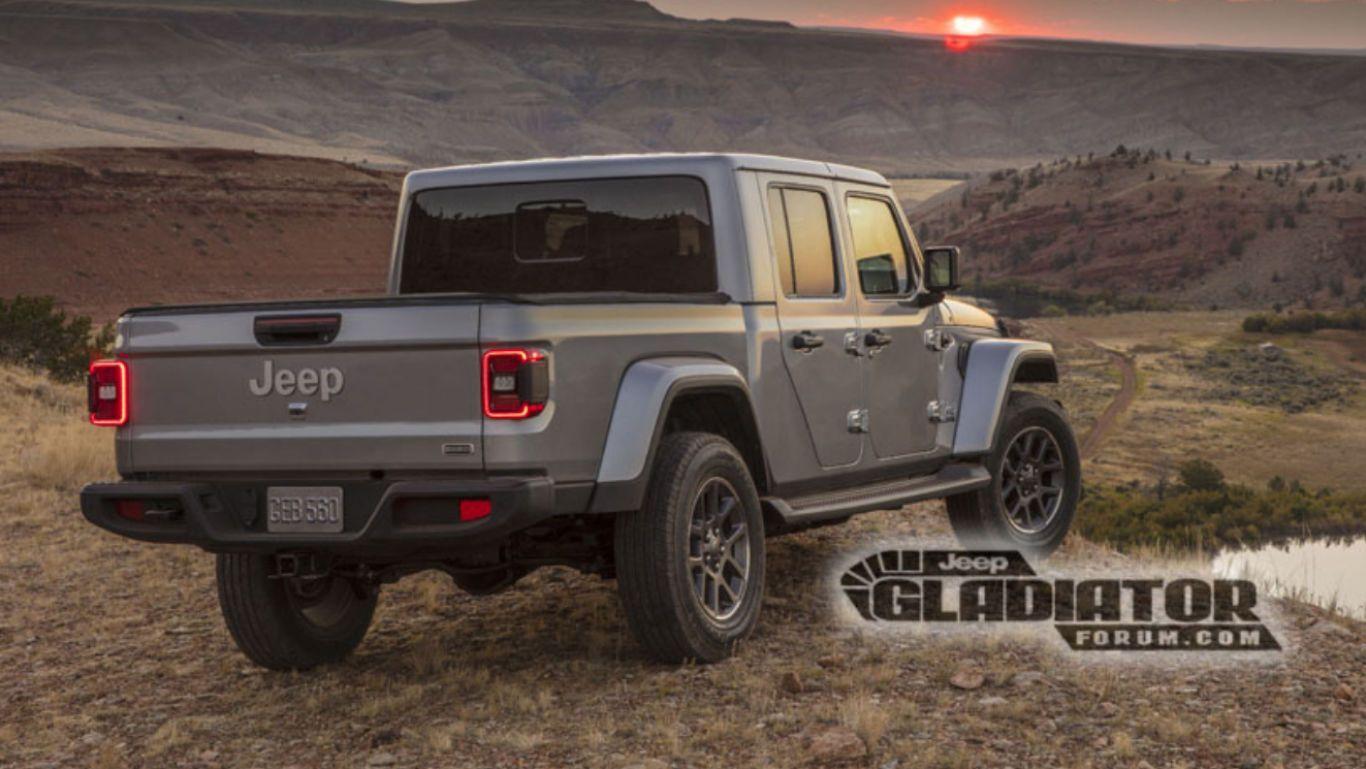 2020 Jeep Gladiator Leaks Online Ahead Of La Auto Show Debut