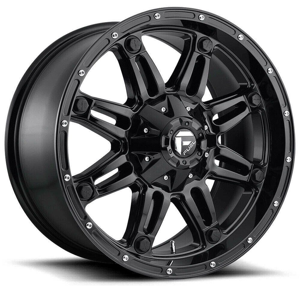 Fuel Hostage 17x9 In 2020 Black Wheels Wheel Rims 17 Inch Rims
