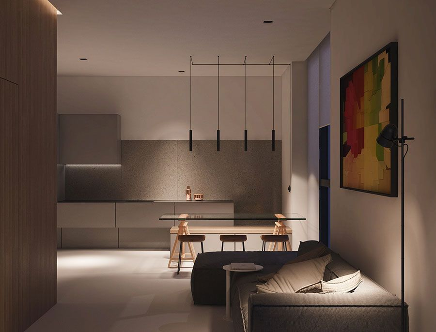 Piccoli appartamenti di lusso idee per arredare con for Interni appartamenti di lusso