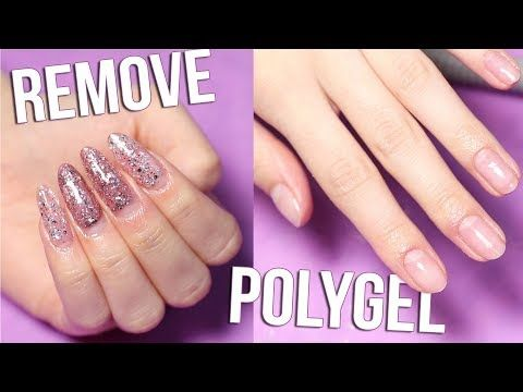How I Remove Polygel Nails Youtube In 2020 Polygel Nails Nails Powder Nails