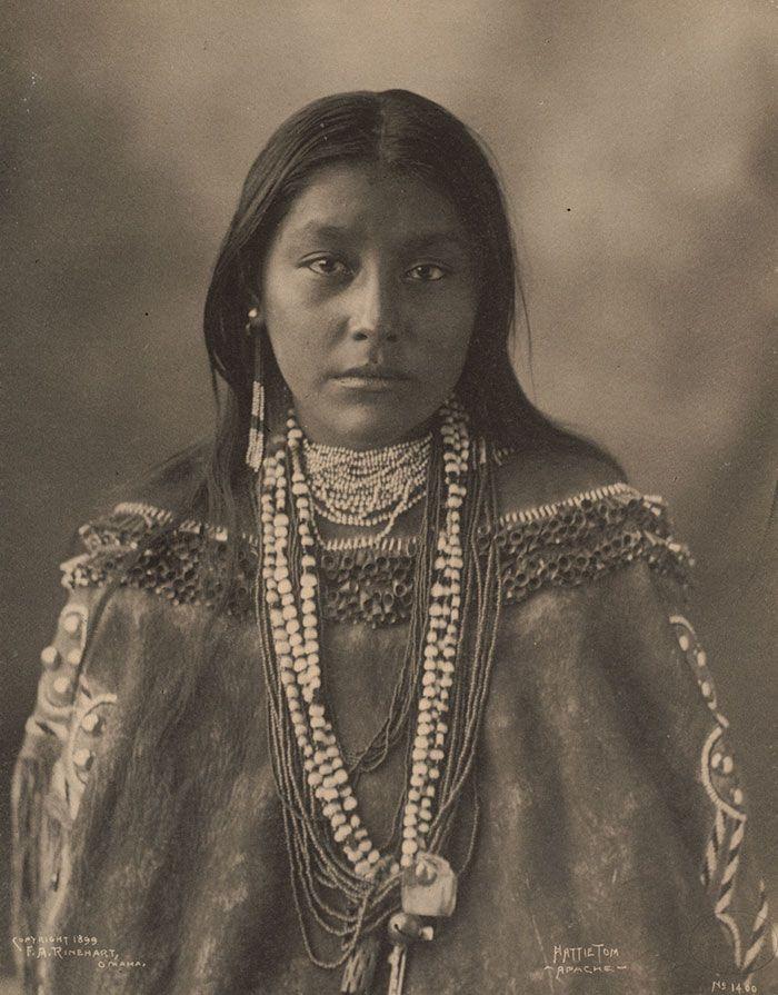 Hattie Tom, Apache, 1899, By Frank A. Rinehart