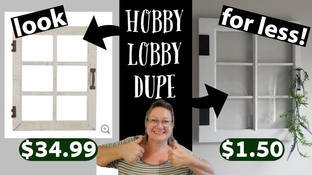 Farmhouse window decorlook for less march 2020hobby