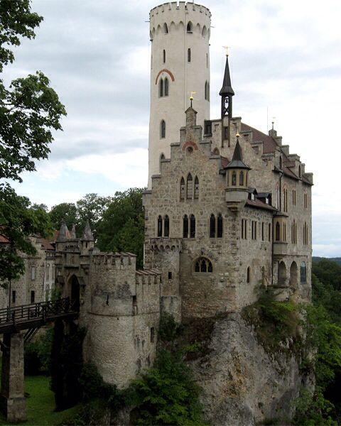 Castle Lichtenstein , Bavaria , Germany