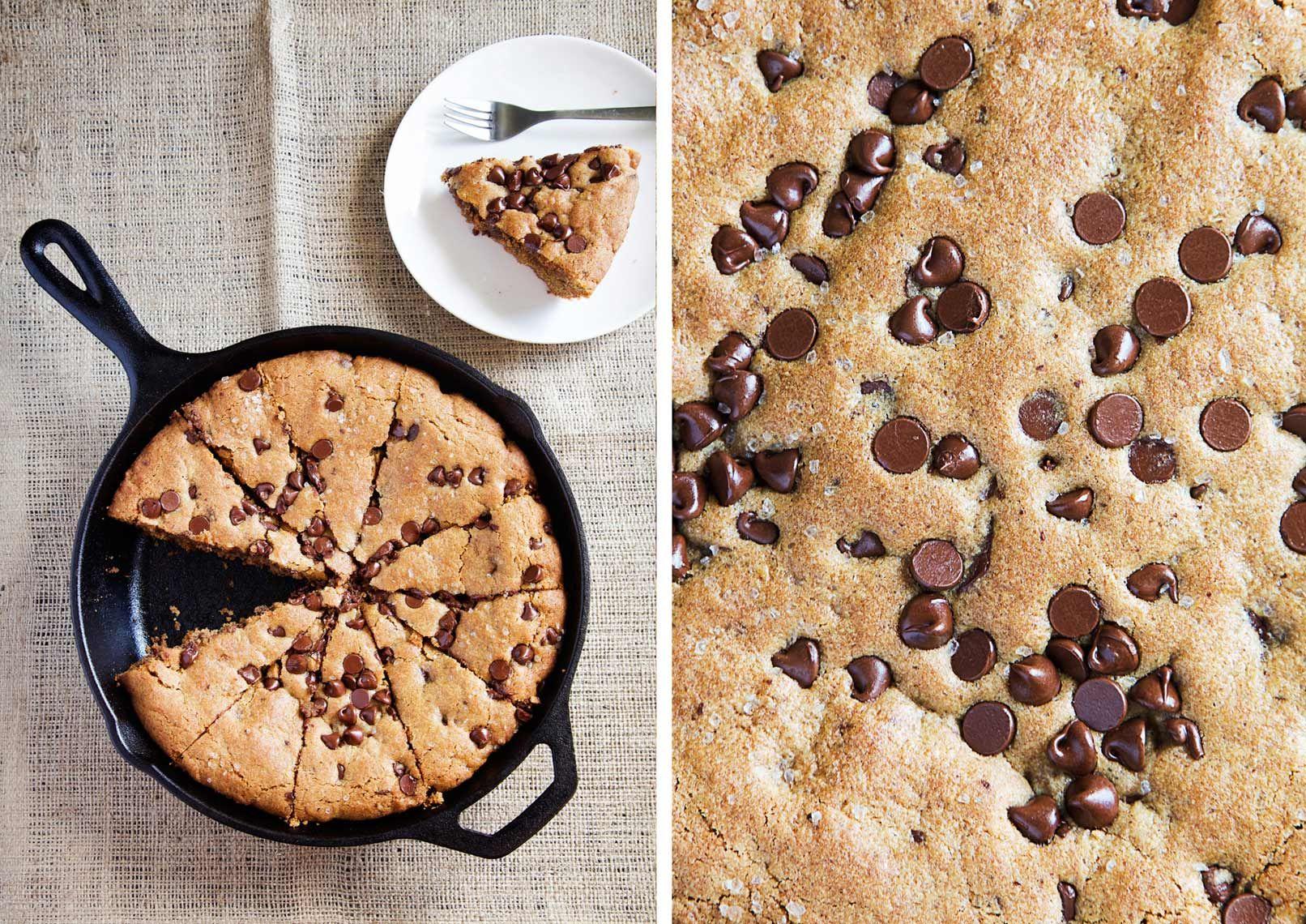 Jennifer Causey skillet cookie