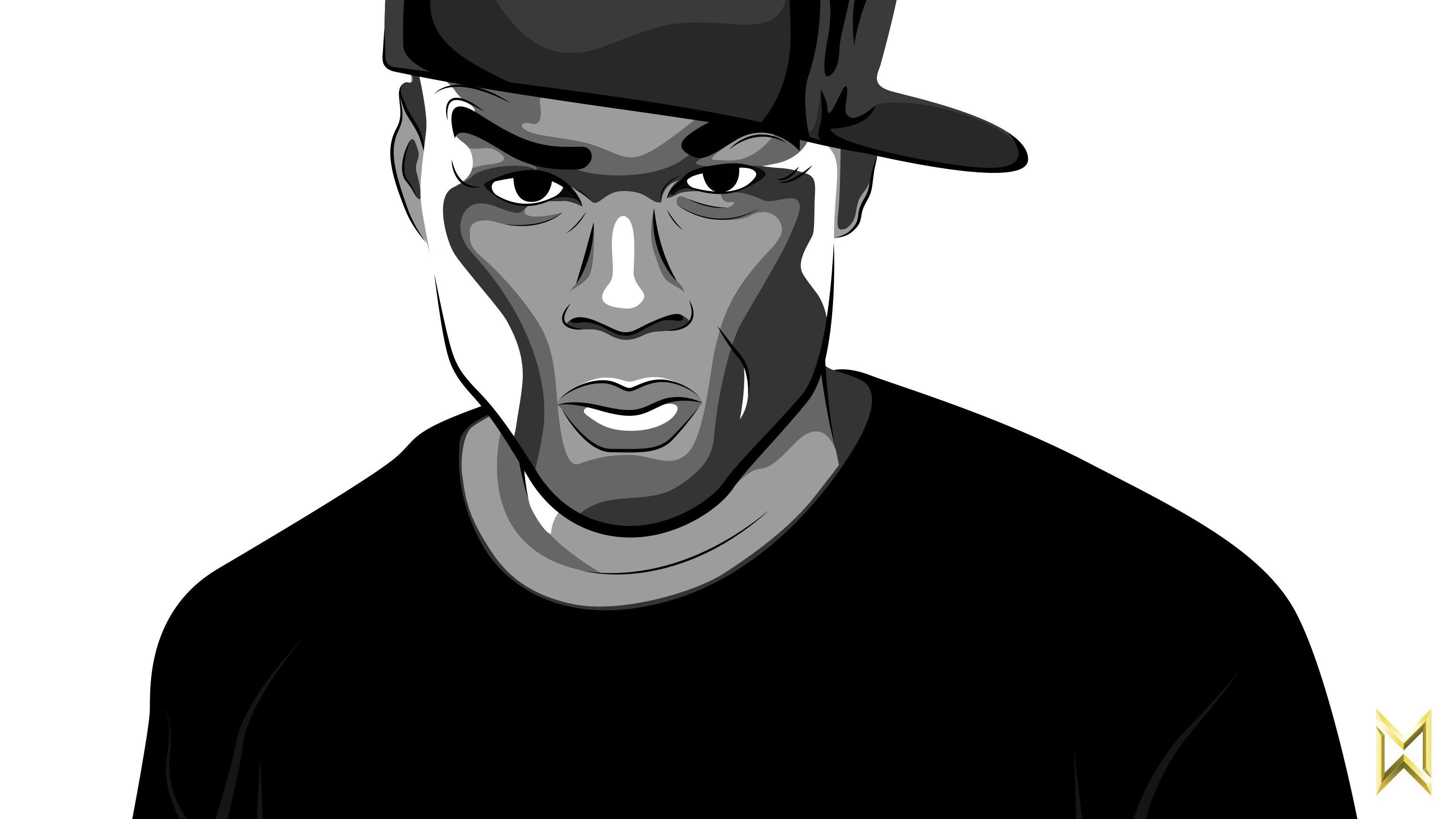 50 Cent Vector Illustration Vector Illustration