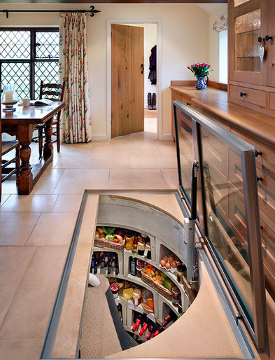 Spiral Cellars No Room For A Walk In Pantry How About A Walk Down Pantry The British Company That Cellar