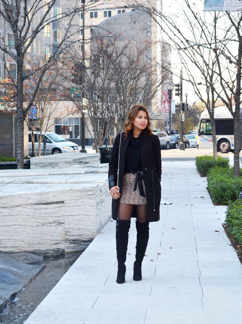 Sophisticated Fashionista | Metallic Pattern for the Holidays | http://sophisticatedfashionista.com