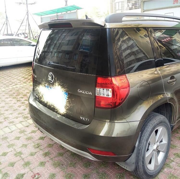 Unpainted Car Rear Wing Trunk Lip Spoiler For Skoda Yeti 2014 2015