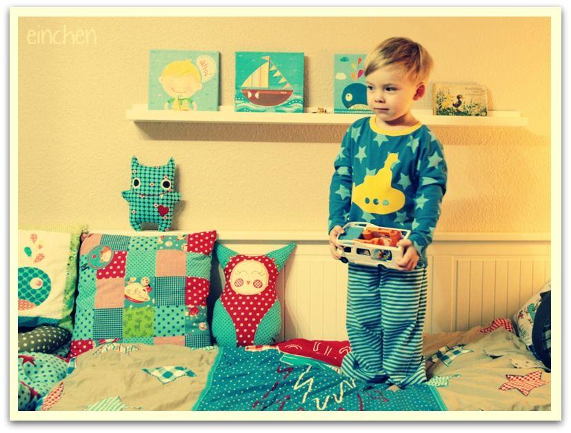 Doppelnaht: neuer schlafanzug #lillestoff