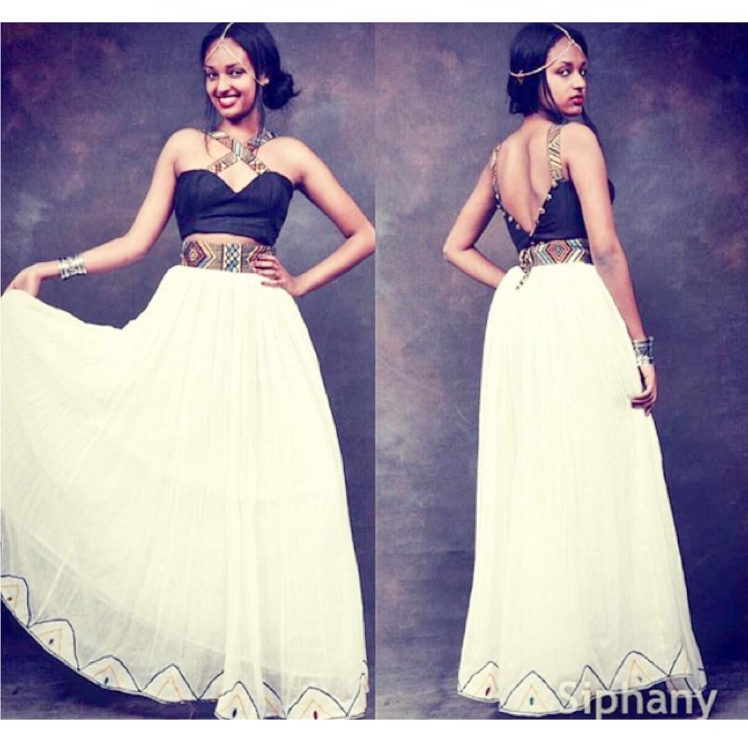 Habesha Fashion Friday! ❤ it\'s all about modern styles this week ...