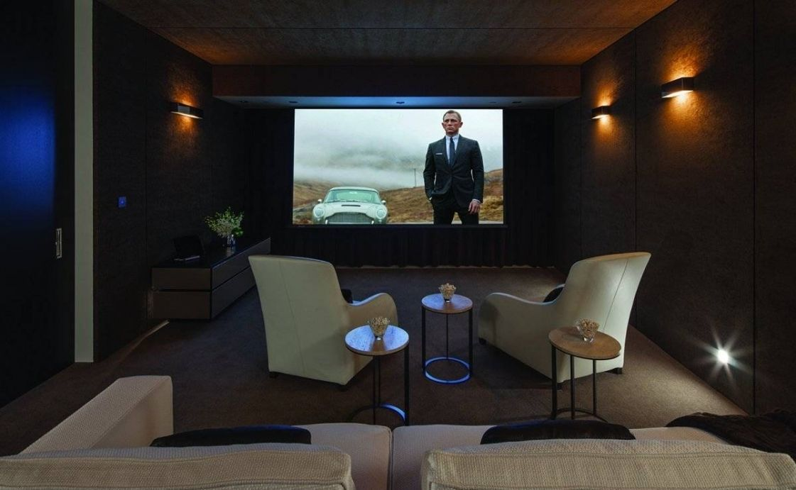 Small Room Home Theater Ideas With Regard To Really Encourage Captivating Living Room Home Theater Ideas 2018