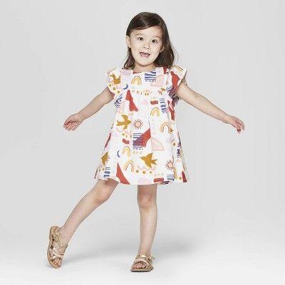 f265f2660a2 Genuine Kids from OshKosh Toddler Girls  A-Line Dress - 3T ...