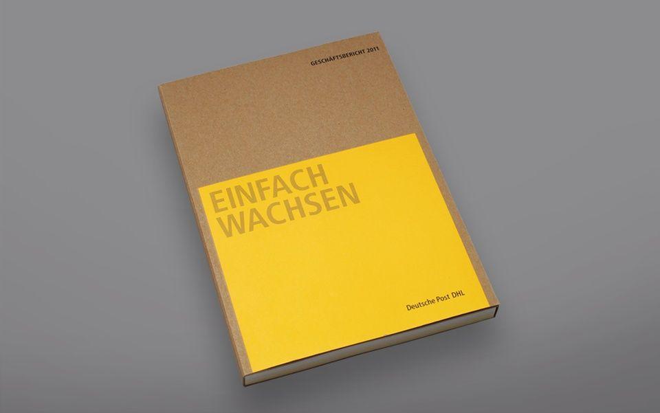Deutsche Post DHL Annual Report 2011 Graphis Annual