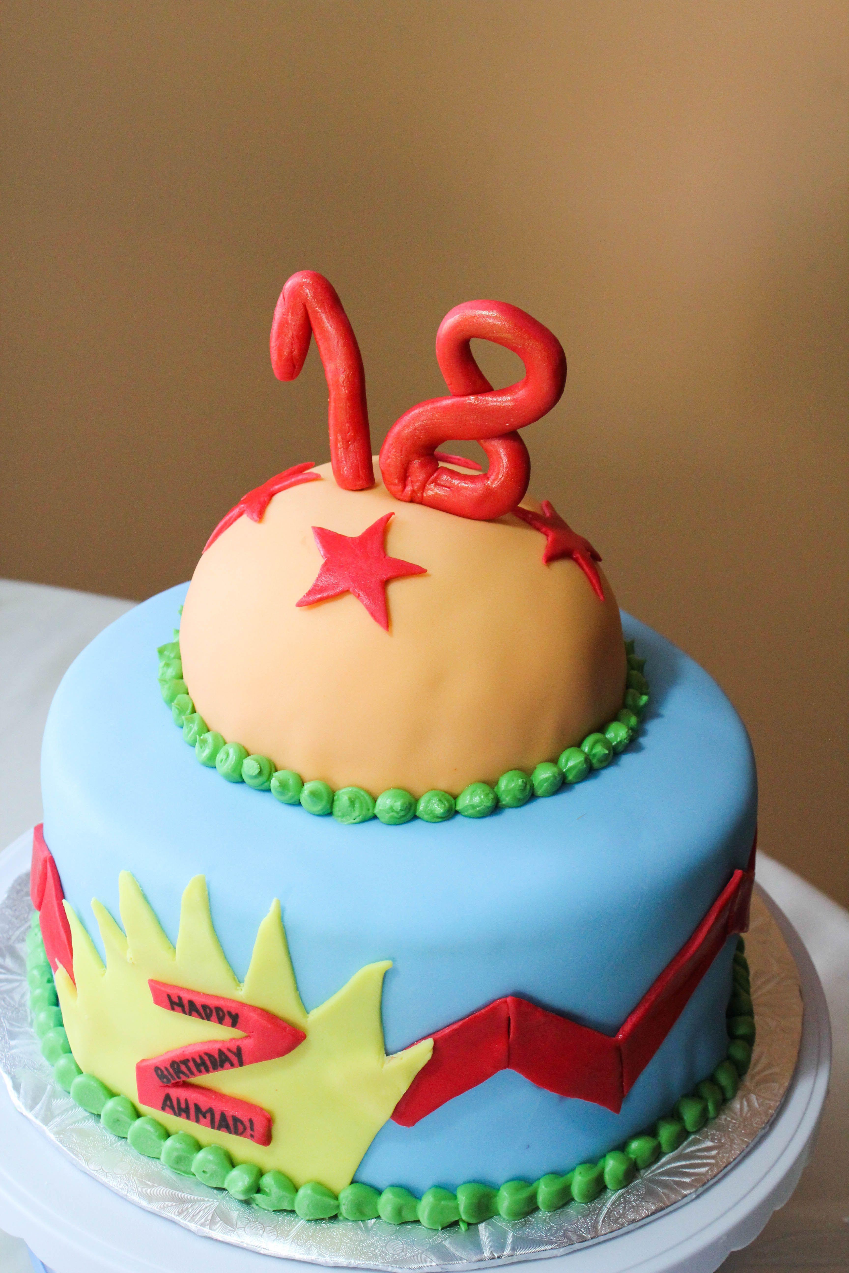 18th Birthday Dragonball Z Birthday Cake Cake Obsession