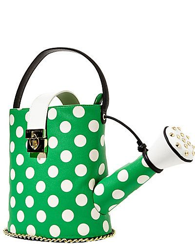 Betseyjohnson Com Kitchi Watering Can Top Handle Bag Green Taschen Handtaschen Lady