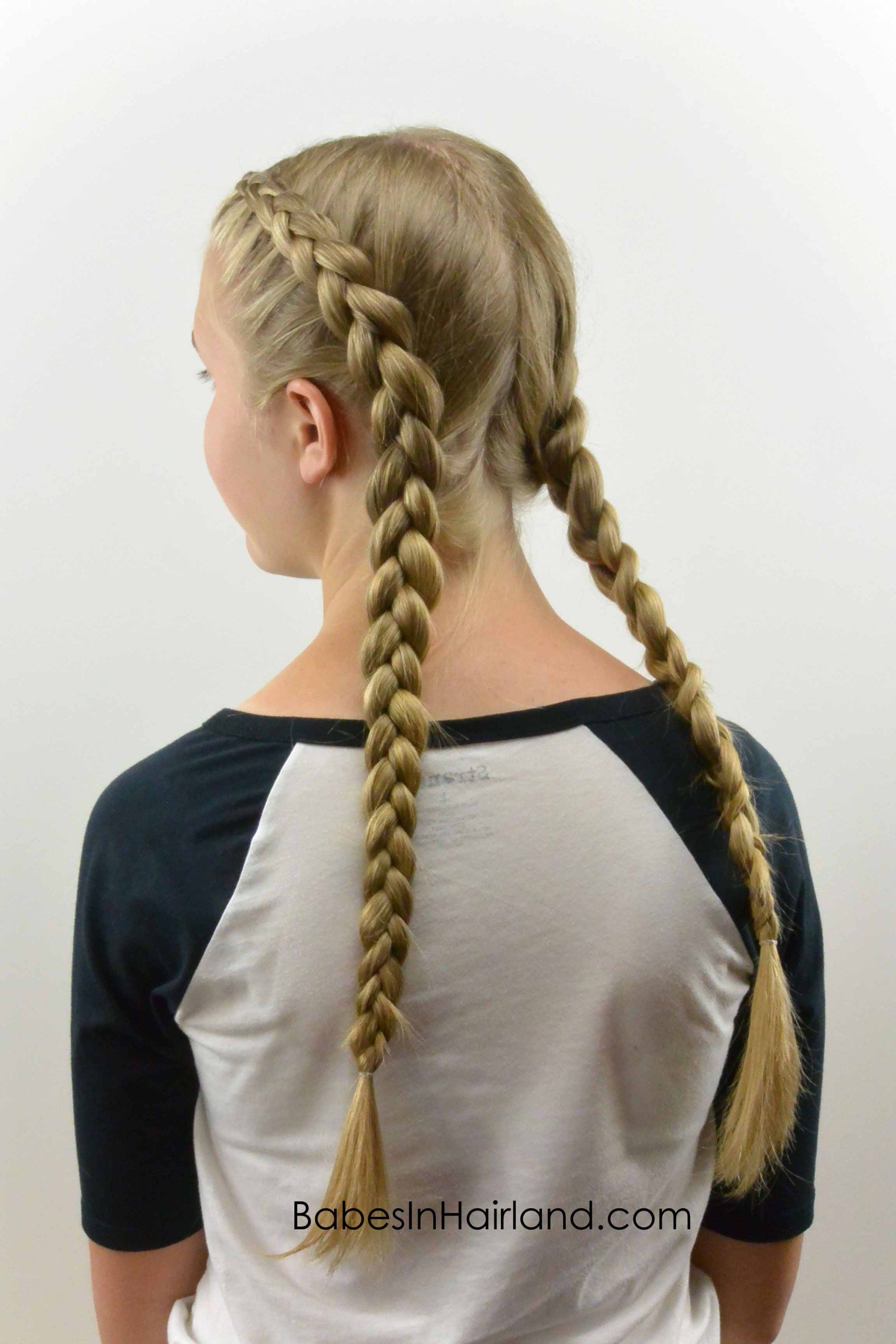 How To Tight Dutch Braids On Yourself With Images French