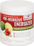 Red Leaf Pre-Workout Energizer - Sports Nutrition Supplement with BCAAs, Beta-Alanine, Glutamine, Green Tea, Raspberry Ketones - Cranberry Lime Flavor - 30 Servings / http://www.fitrippedandhealthy.com/red-leaf-pre-workout-energizer-sports-nutrition-supplement-with-bcaas-beta-alanine-glutamine-green-tea-raspberry-ketones-cranberry-lime-flavor-30-servings/