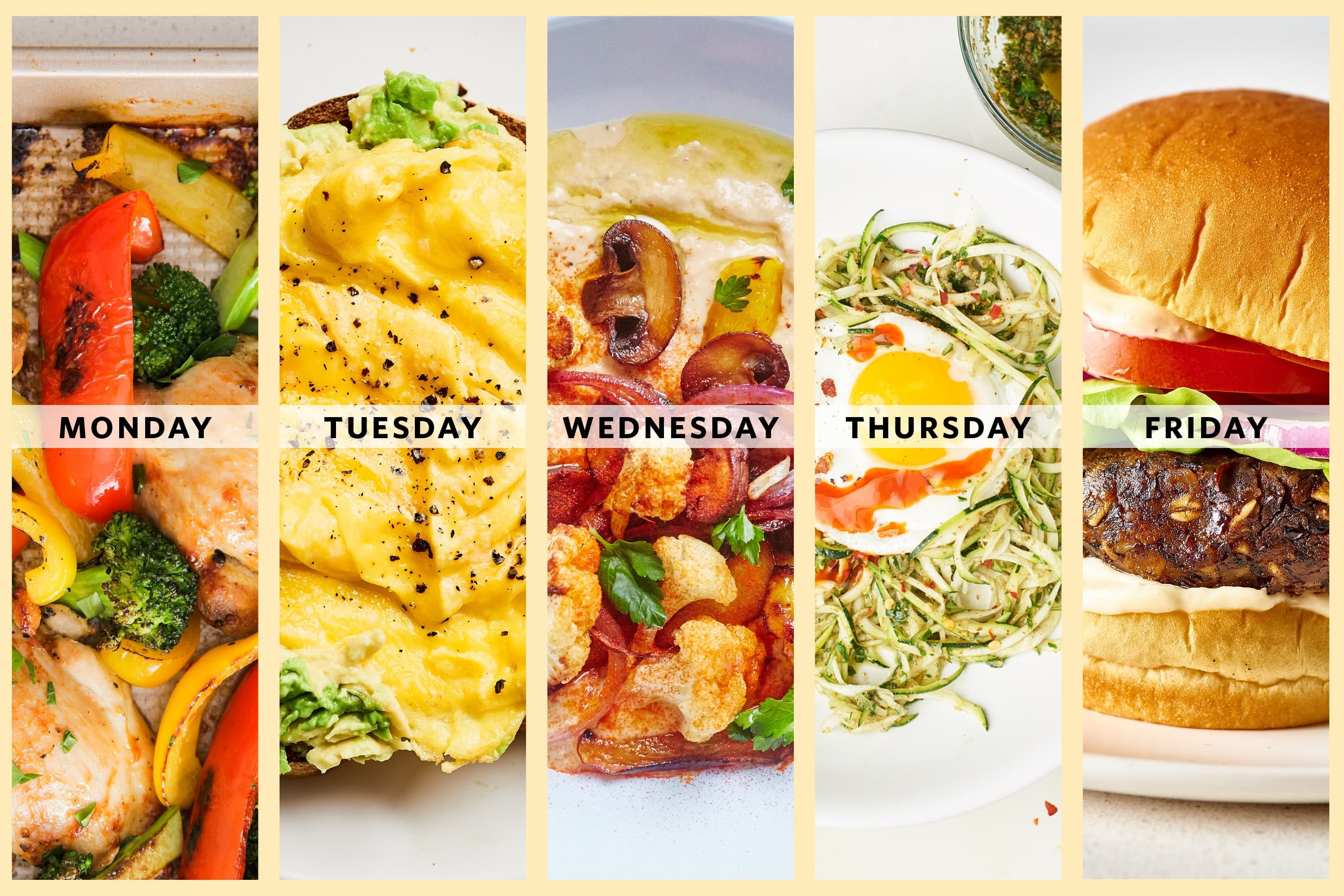 Next Week's Meal Plan: A Week of Easy Dinners for One images