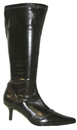 1d0aa0e56a41 Hayley - EXTRA WIDE CALF Stretch Boot by WideWidths.com (Brown ...