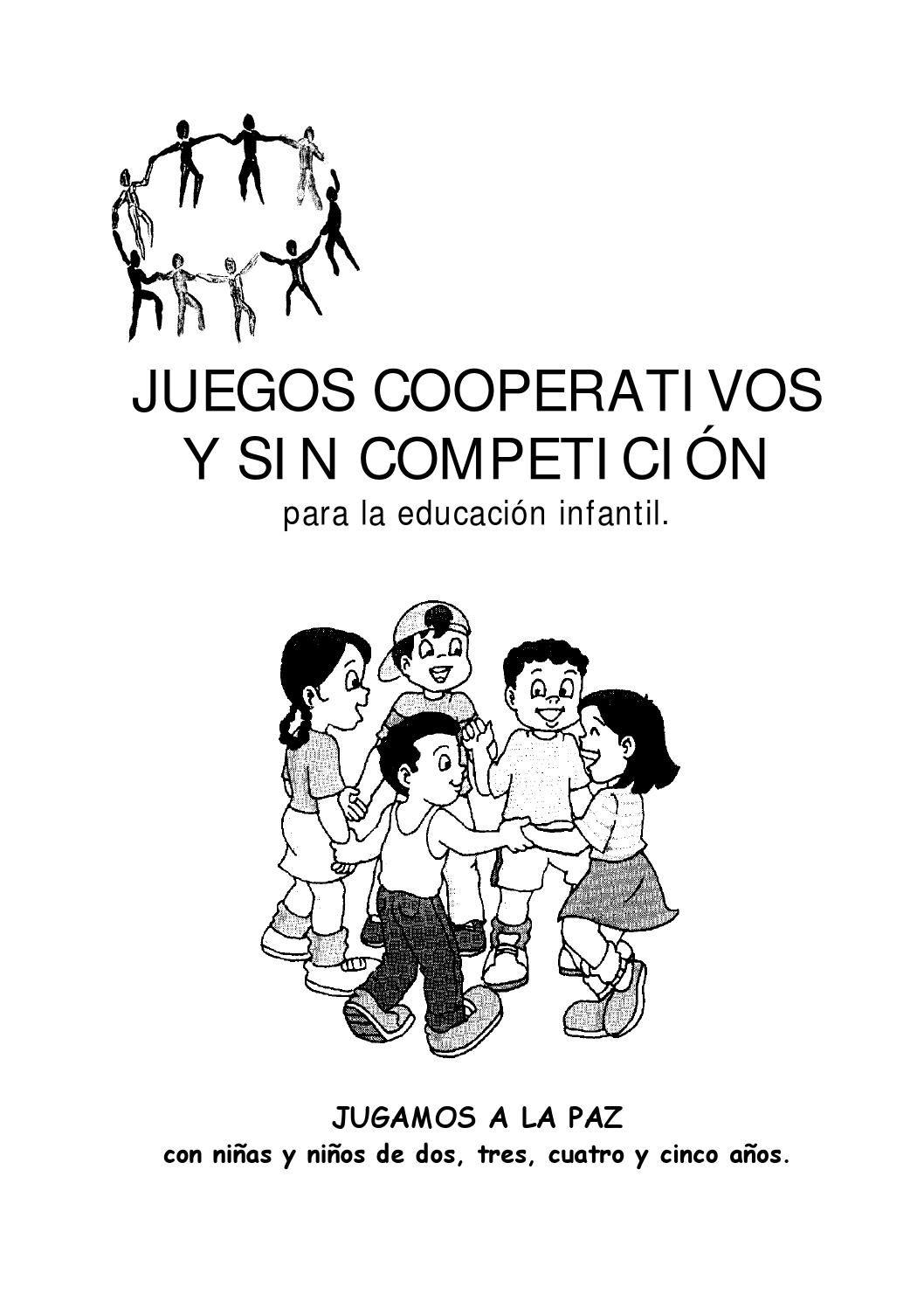 Juegos Cooperativos Para Infantil 1 Lujo Pinterest Juegos