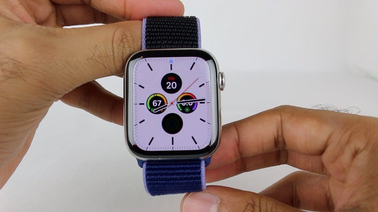 Smart Watch Apple Watch Series 5 44mm Stainless Steel