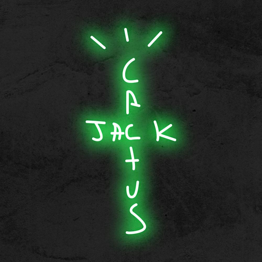 Cactus Jack Light By Travis Scott Led Neon Sign In 2020 Neon Signs Travis Scott Travis Scott Wallpapers