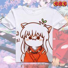 Inuyasha Short Sleeve Anime T-Shirt - OtakuForest.com
