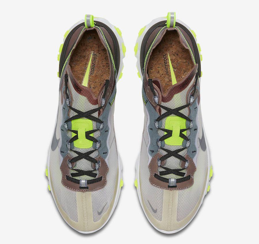 4d3af75e4 Nike React Element 87 Desert Sand Cool Grey Smokey Mauve AQ1090-002 ...