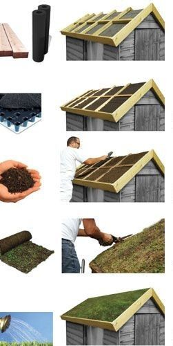 Fabriquer soi-même une toiture végétalisée  mode d\u0027emploi nature